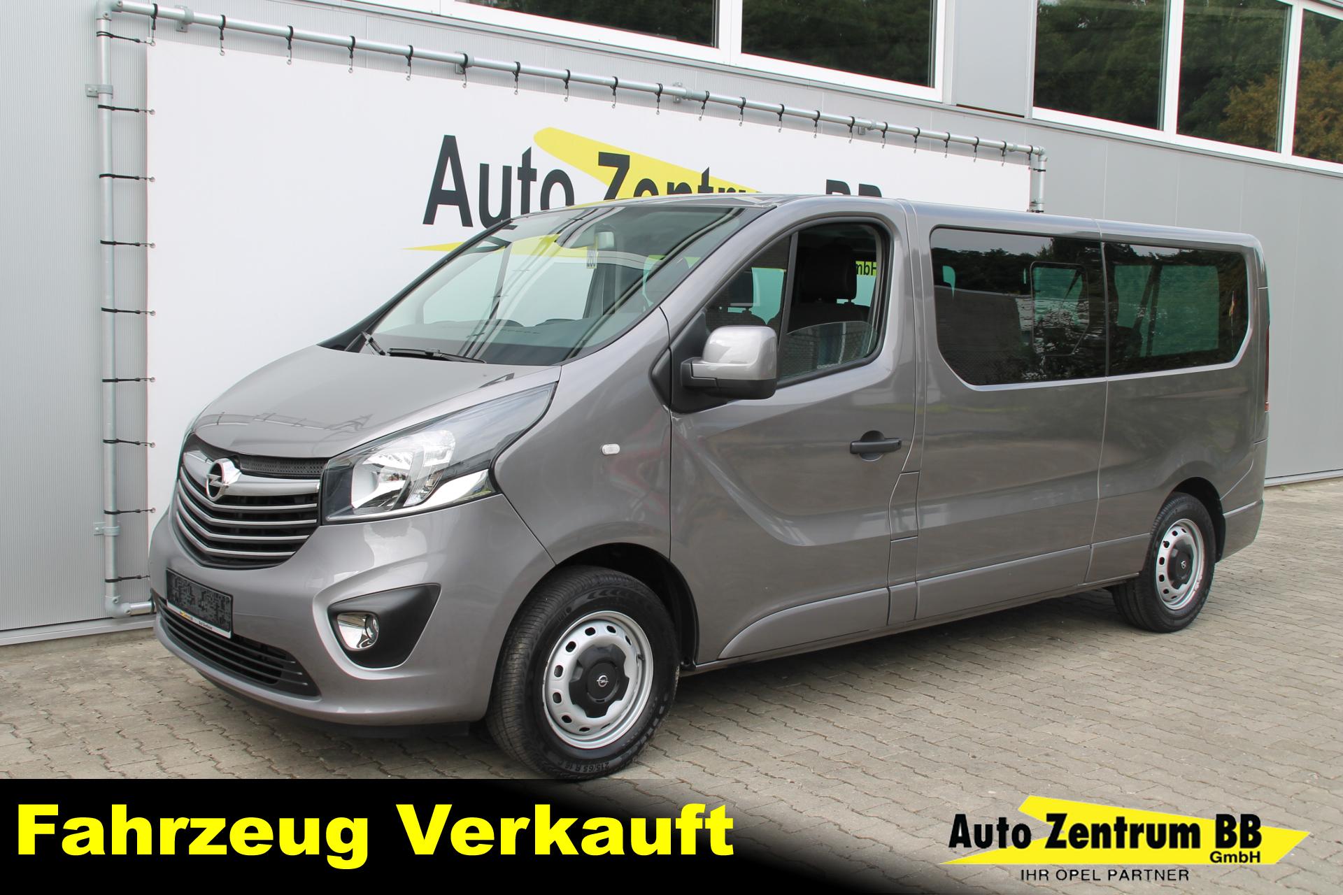 Opel Vivaro 1.6 BiTurbo CDTI L2H1 S&S Navi PDC Kamera