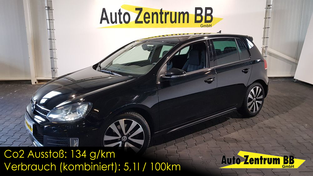 Volkswagen Golf VI GTD LED Navi Park Assist 17″ Alu Xenon