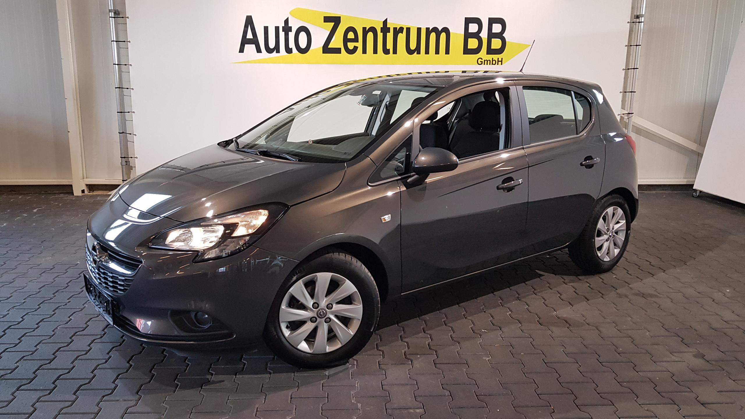 Opel Corsa E 1.2 Edition 15″Alu Bluetooth Regensensor