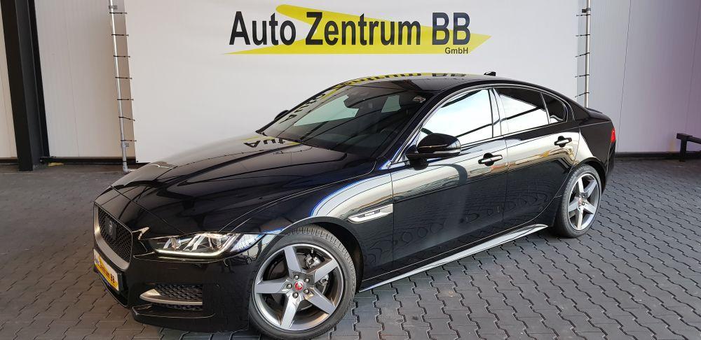 Jaguar XE R-Sport Teil-Leder BiXenon Navi SpurAssistent