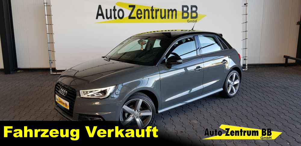 Audi A1 ultra Sportback S-Line 17″ Alu Klima NAVI