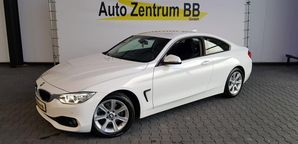 BMW 420d Coupe Advantage 17″ Navi Xenon Sitzheizung