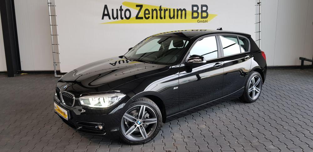 BMW 118i Sport Line 17″ Alu Sitzheizung Xenon