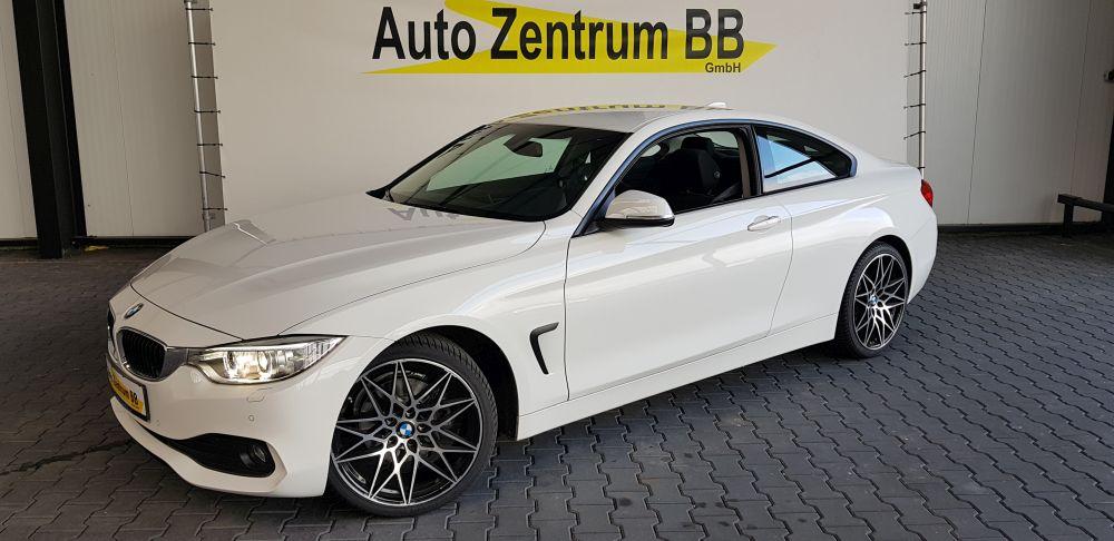 BMW 420d Coupe Advantage 19″ Navi Xenon Sitzheizung