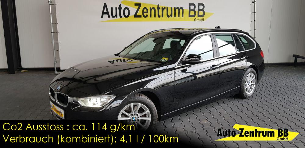 BMW 320d Touring Prof.Navi Voll-Leder AHK Bi-Xenon