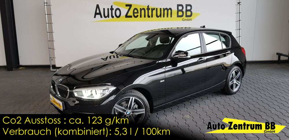 BMW 118i Sport Line VollLED Sitzheizung Tempomat