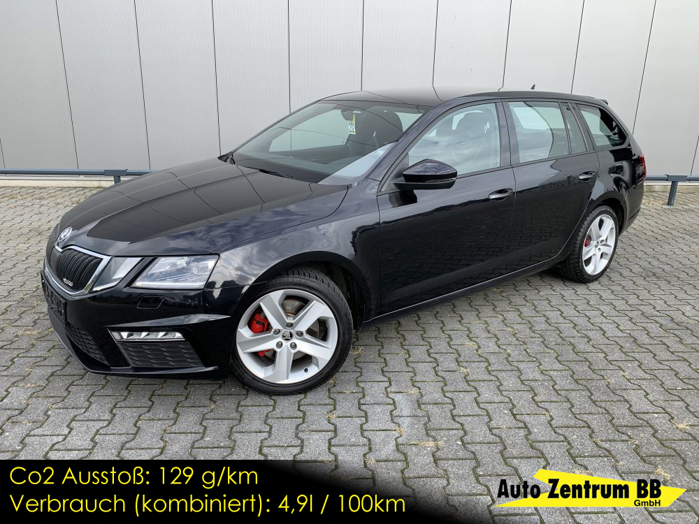 Skoda Octavia Combi RS 2.0 TDI DSG Apple Carplay LED