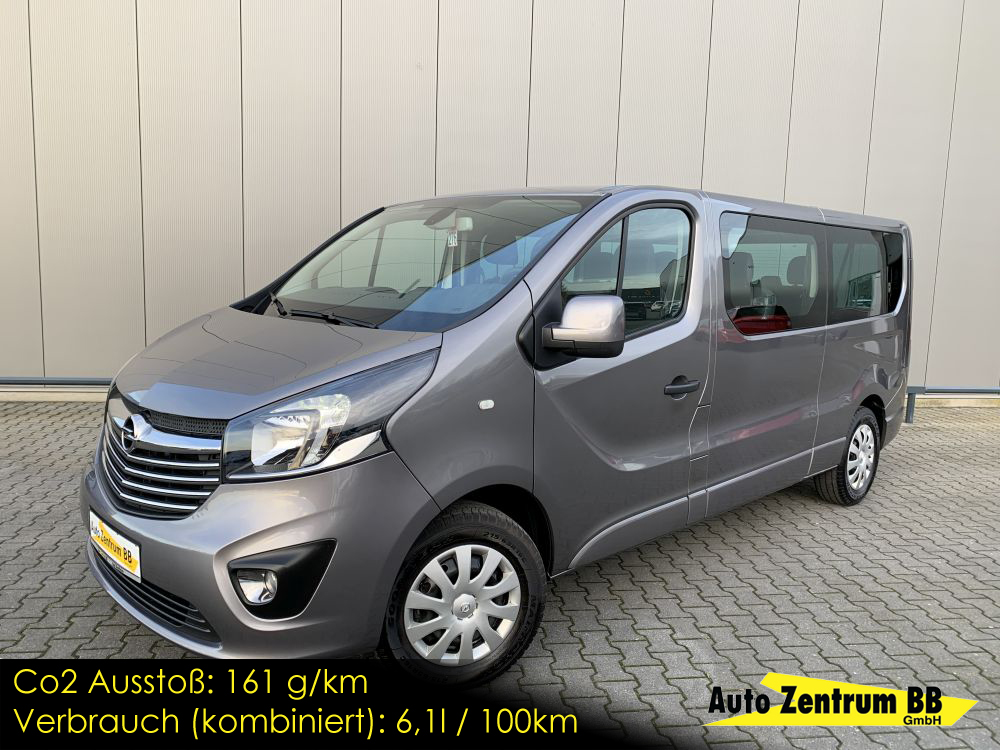 Opel Vivaro B Combi L2H1 2,9t 9-Sitzer Sitzheizung