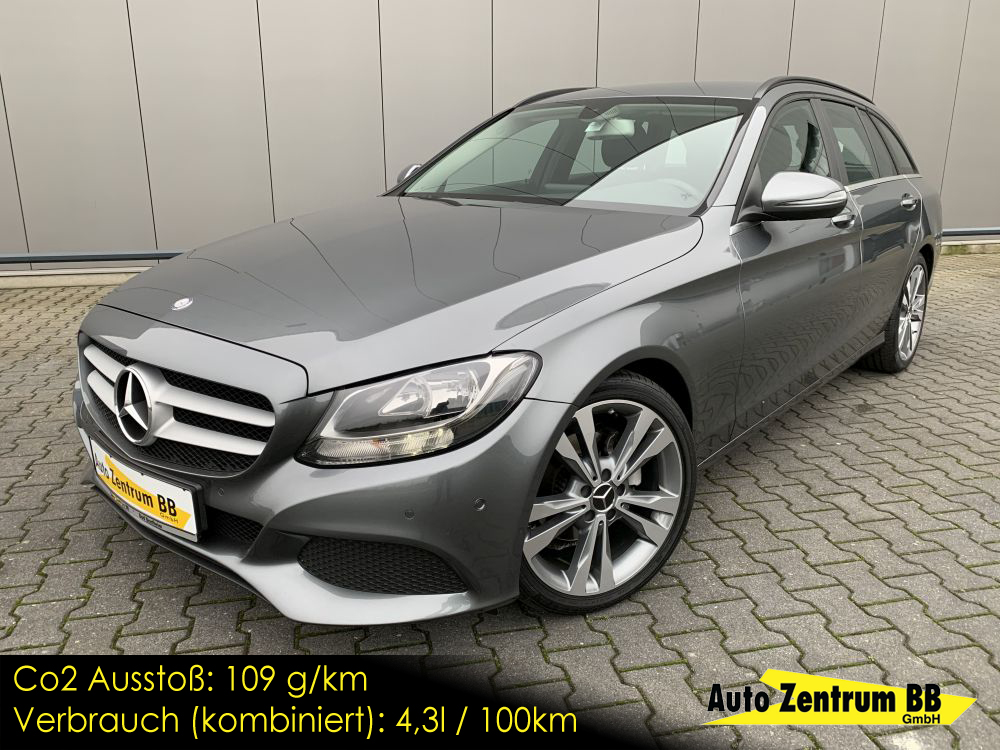 Mercedes-Benz C180d BlueTEC T-Model H&R Federn Navi PDC v/h