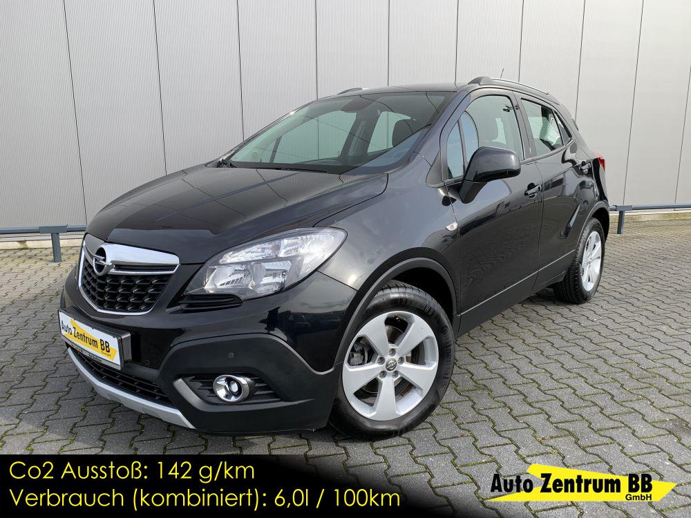 Opel Mokka 1.4 Turbo Anhängerkupplung Sitz & Lenkradheizung Tempomat
