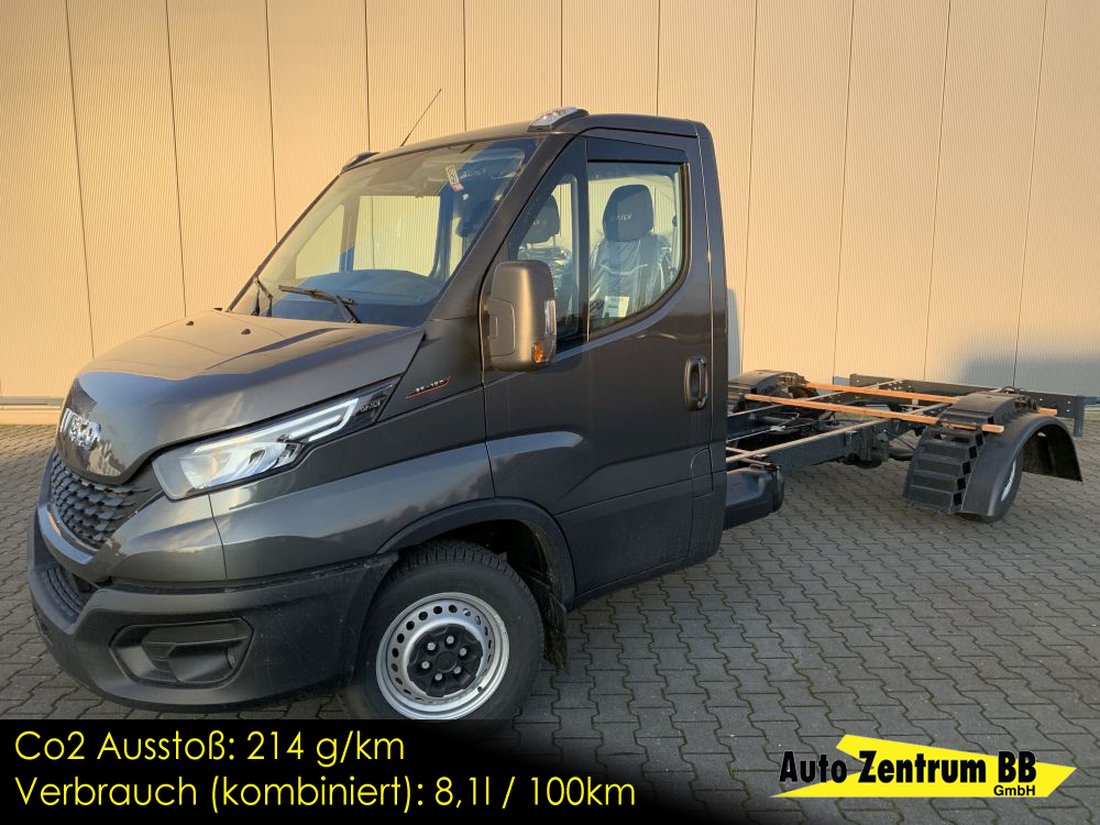 Iveco Daily 35S180 Fahrgestell Navi DAB+ Voll-LED