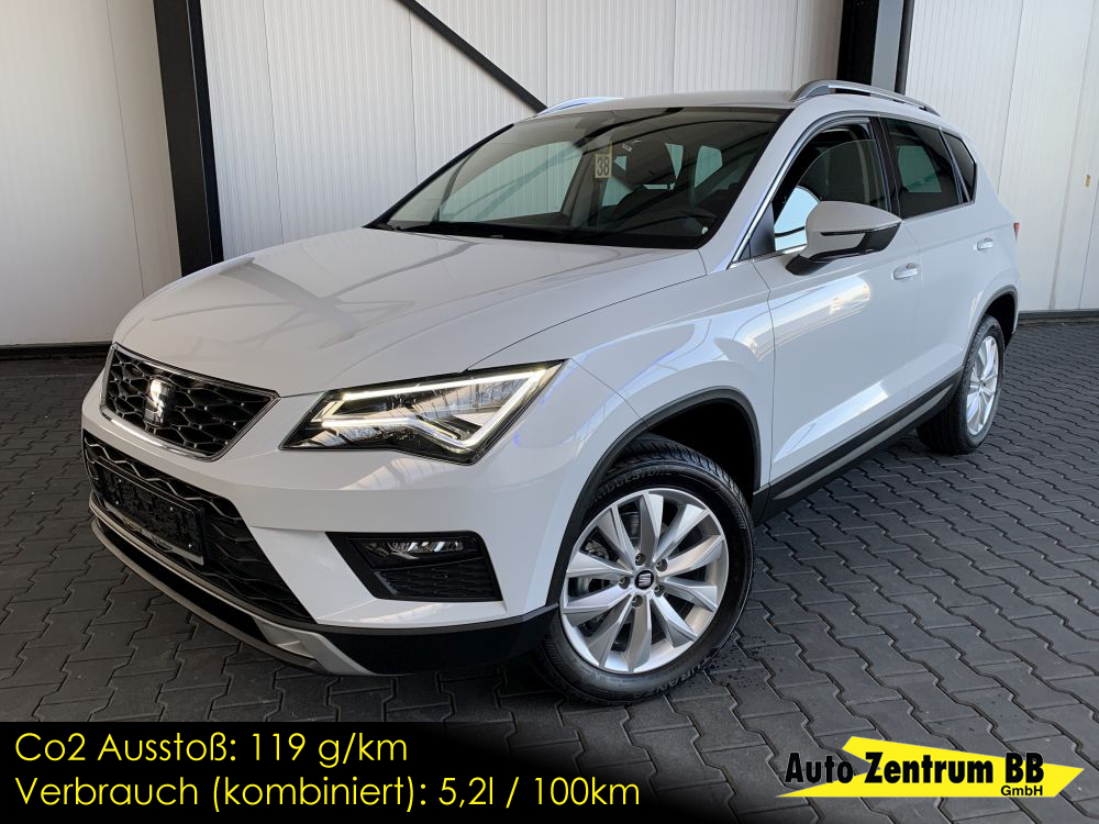 Seat Ateca Style FrontAssist Kessy WirelessCharger
